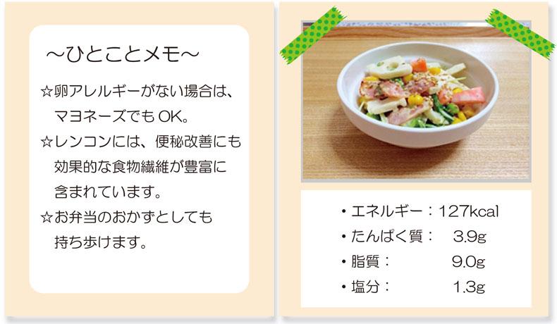 サラダ栄養価2